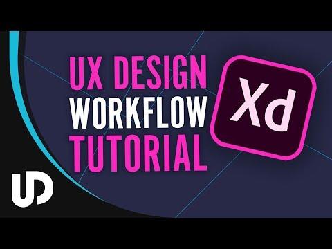 Wie Arbeitet man mit Adobe Xd? Workflow Tutorial [TUTORIAL]
