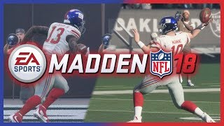 TAKING ON A TOURNAMENT PLAYER IN MADDEN 18!  - Madden 18 Gameplay (Raiders vs Giants Madden 18)