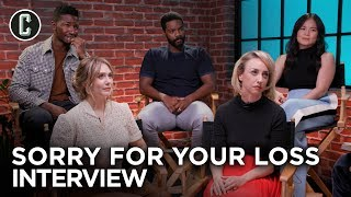 Elizabeth Olsen and Sorry For Your Loss Cast on Season 2