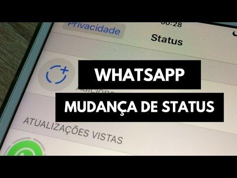 Ilanc  - Veja o que mudou no status Whatsapp !