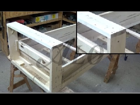 HOW TO BUILD A BENCH FRAME - ALO Upholstery
