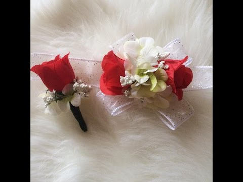 Easy | Cheap | D.I.Y | Corsage for Prom