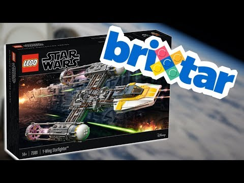 REMINDER: Win the LEGO UCS Y-Wing Starfighter with BriXtar!
