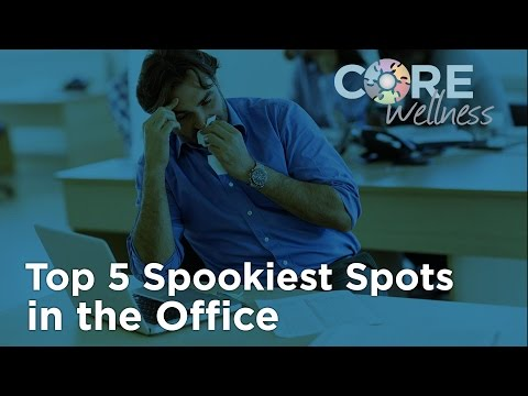 The 5 Spookiest Spots in the Office - for Germs!