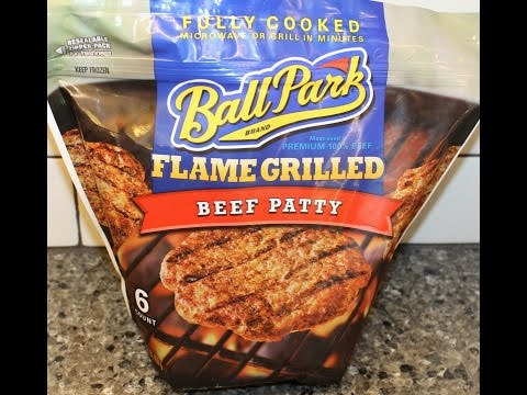 Ball Park Flame Grilled Beef Patty Review