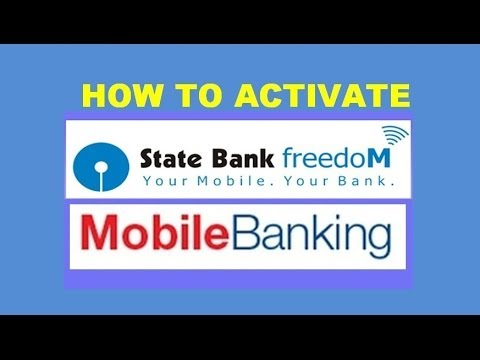 how to register  activate and use sbi mobile banking freedom software