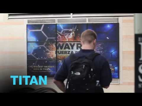 New York Penn Station Video Wall