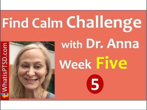 In this Moment I am Safe! Find Calm Challenge - Week 5 of 10
