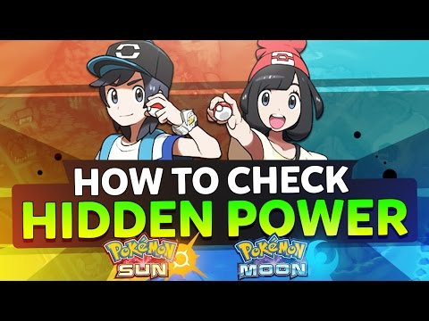 【HIDDEN POWER CHECKER】 Pokemon Sun & Moon | Tapu Tutorials