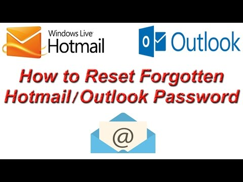 How to Reset Forgot Hotmail / Outlook Password | Forgot Outlook Password