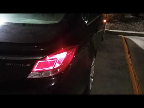 2011 Buick Regal Rear Turn Signal Replacement