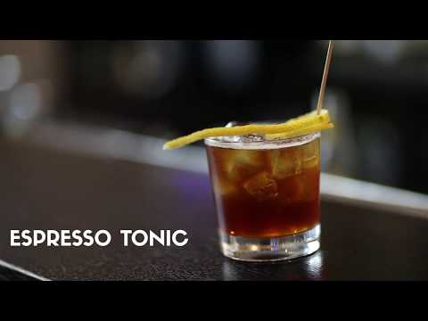 Kaffee-Cocktail: Espresso Tonic - coffee at work