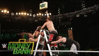 Money in the Bank Contract Ladder Match- WWE Money in the Bank Full Match