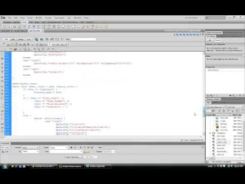 Create forms in Dreamweaver CS6