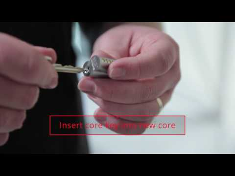 Removing and Installing Lock Core