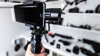 NEW Smartphone Stabilizer?! Zhiyun Smooth Q First Look!