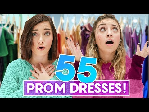 Xxx Mp4 We Tried On 55 PROM DRESSES 3gp Sex