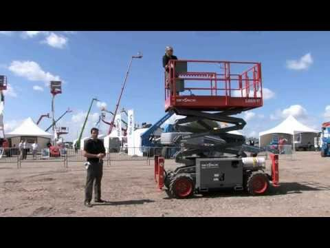 Product Review: Skyjack SJ6826 RT Scissor Lift