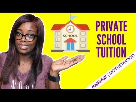 The key to affording PRIVATE SCHOOL TUITION | Debt Free Friday