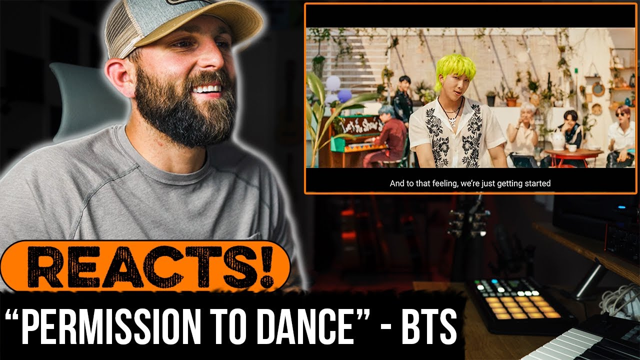 """MUSICIAN REACTS to BTS -  (방탄소년단) """"Permission to Dance'"""" Official MV"""
