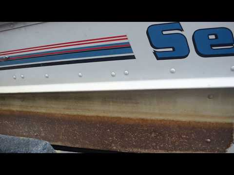 How to clean Aluminum boat (The Best way) and remove hard water stains