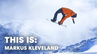 Snowboarding needs people like him. | This is: Marcus Kleveland E2