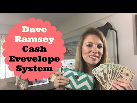 Stuffing My May Mid Month 2018 Cash Envelopes | Dave Ramsey Cash Envelope System