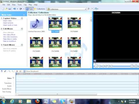 how to make a stop mption movie with windows movie maker 2.6