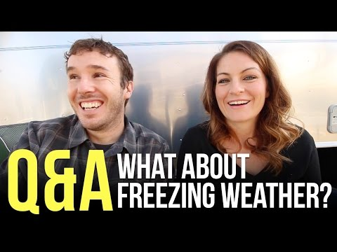 How Do You Keep Your RV Warm in Freezing Weather?