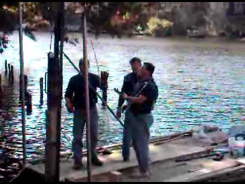 How To Drive a 6X6 Post for a Boat Dock