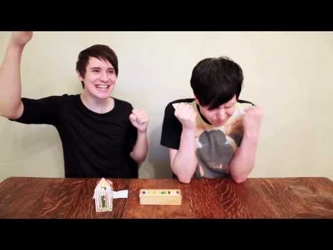 Dan and Phil take the Jelly Bean Roulette Challenge!