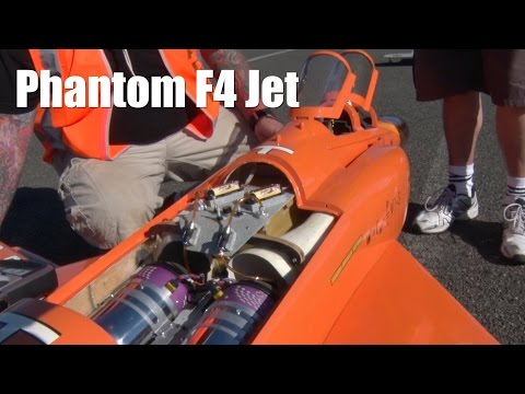 RC Jet Twin Turbine Airplane Phantom F4