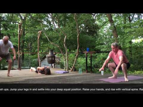 Scap & Leg Raises, Hindu Squats, Squat Burpees and Mace Swings | Fitness Devolution