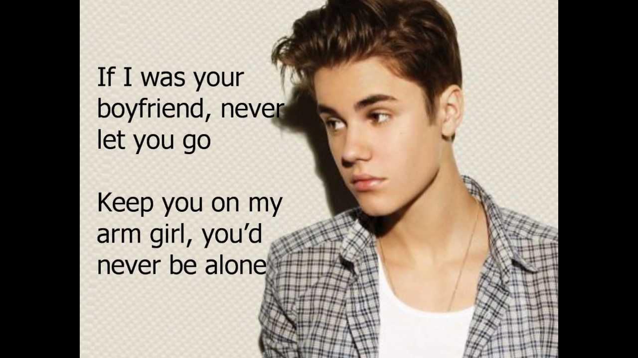 Download Justin Biebe-boyfriend lyrics MP3 Gratis