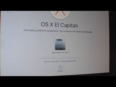 How to reset a Macbook (OS X Capitan 2016); restore your Mac to the original factory settings