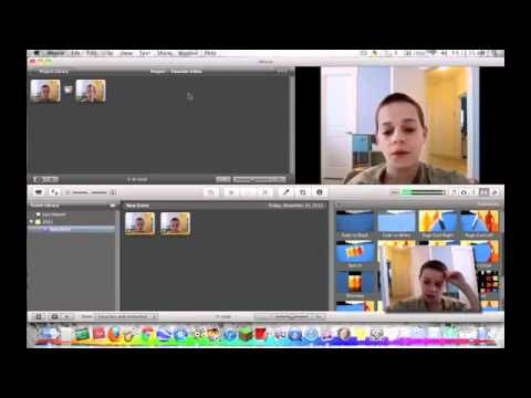 Transition Effects in iMovie