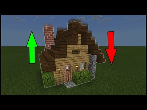 Minecraft Command Block - Pop-Up House!