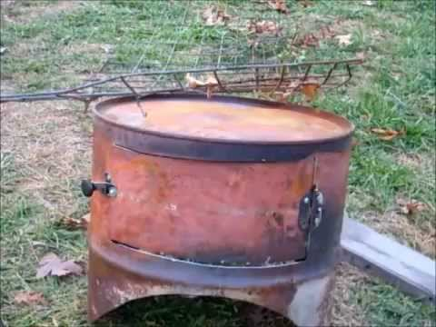 DIY Barrel Stove Oven -Simply Living