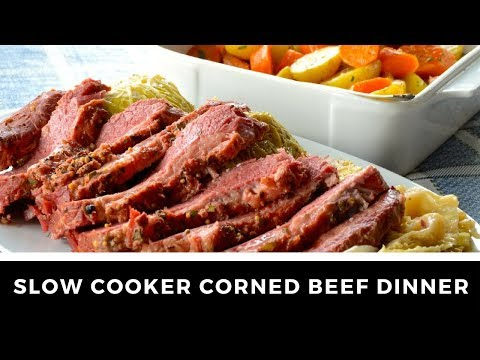 Awesome SLOW COOKER CORNED BEEF!
