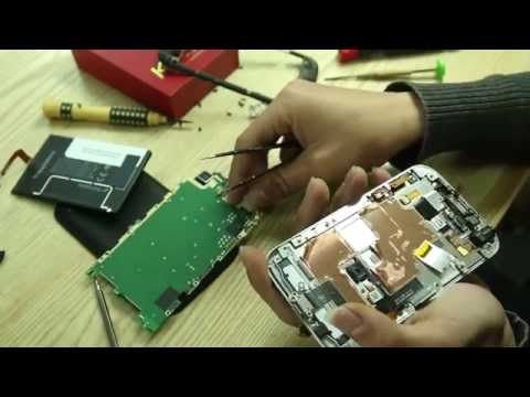 Karalux - How to Disassemble BlackBerry Classic for Repair, teardown detail