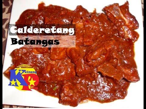 Calderetang Batangas