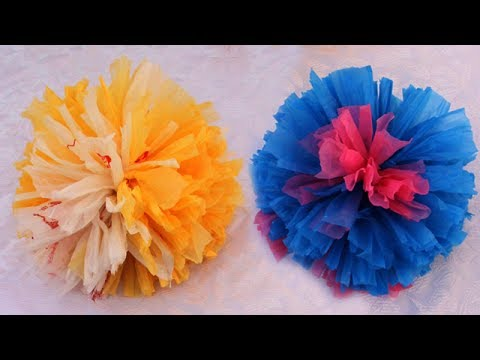 How to make flower from carry bag    Recycled Diy Ideas    Step by Step Tutorial