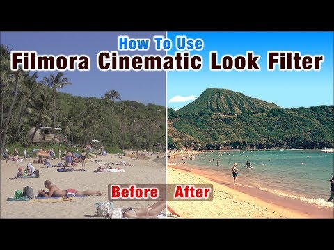How To Use Filmora Filters Make Video Great Look | Filmora Video Filter Free Step By Step