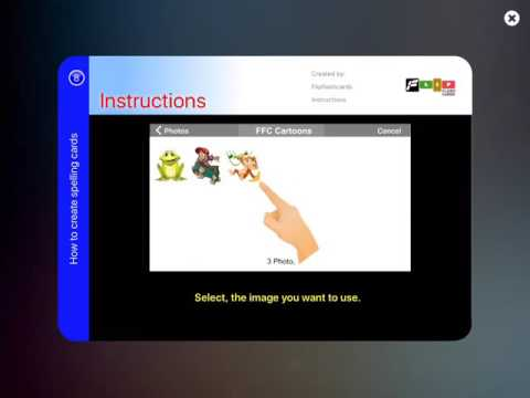 How to Create Spelling Cards - Flip Flash Cards Tutorial #8