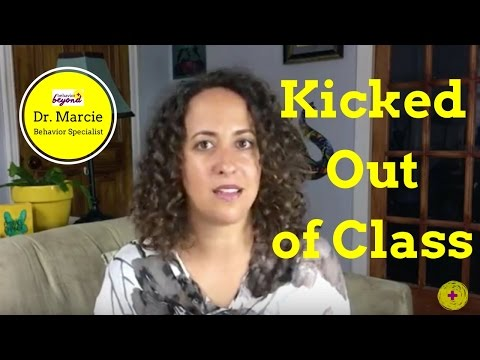 Kicked Out of Class? (What to do instead)