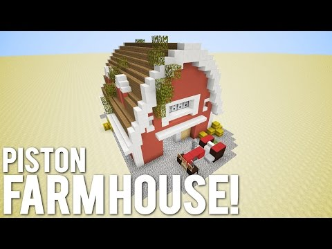 Minecraft: The Piston Farm House