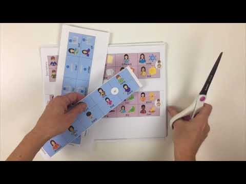 How to make an AAC communication book