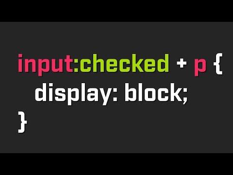 CSS Trigger - Mudar propriedade ao clique com CSS apenas.