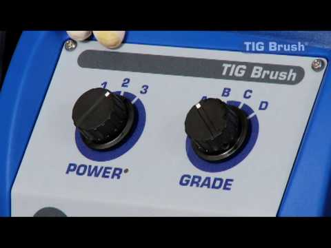 TIG Brush Stainless Steel Weld Cleaning System