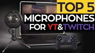 TOP 5: Best USB Microphones  for Youtube & Streaming! 2017/2016